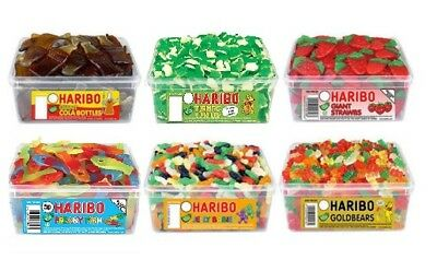 Haribo Sweets Loose Pick N Mix Wedding Favours Kids Party Bag Fillers Bulk Candy