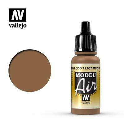 Painting Supplies Art Supplies Airbrush Paint Vallejo Model Air Mud Brown Val037 Latest Technology