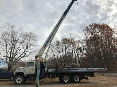 Manitex 2284 Boom Truck, 22 ton, With Remote Control Package