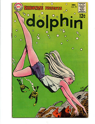 Showcase Comics # 79 1968 issue  (6.0 +) 1st Appearance of Dolphin Aquaman Movie