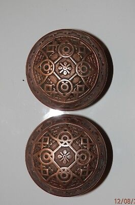 Brass Door Knobs Vintage Antique