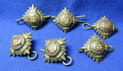 WWII British Officer Pips Lot Of 6