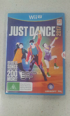 Just Dance 2017 Wii U Game PAL (NEW)