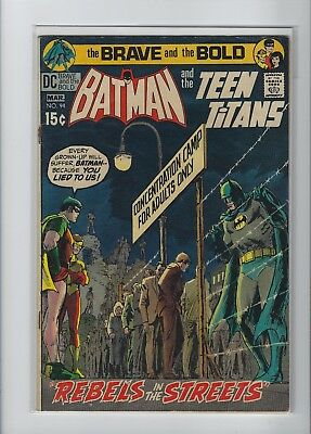 Brave And The Bold #94 Batman And The Teen Titans Dc Silver Age Comic Book