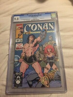 Conan The Barbarian 248 1991 CGC 9.8 Decapitation Cover !!!!!