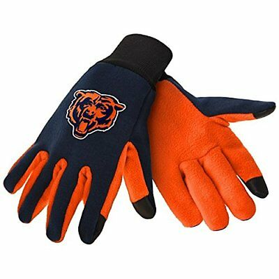 Chicago Bears Nfl Texting Technology Gloves Free Shipping