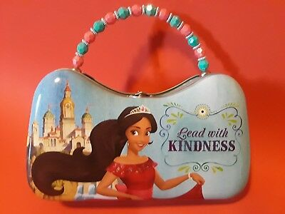Disney Elena Avalor Metal Girl's Lunch Box~One Of A Kind-Hard To Find~Brand New
