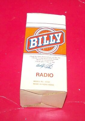 Billy Carter Beer Can Radio AM Only