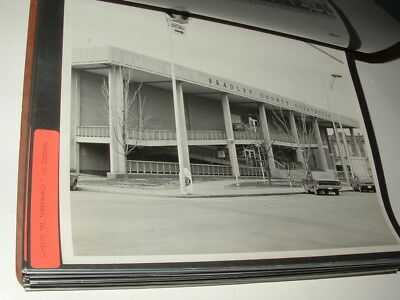 Vtg '75 BW Photo 8x10 Bradley Co Cleveland Tennessee/TN Courthouse Ford Fairlane