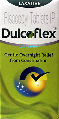 OTC Dulcolax Dulcoflex Tablets 5mg Bisacodyl Constipation Relief 400 tablet