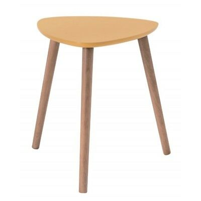Paris Prix Table D Appoint Scandinave Kaja 40cm Jaune Eur 57