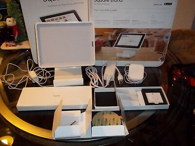Square iPad Checkout POS Register Universal Credit Card Terminal Swiper Stand.