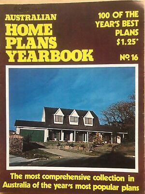 Vintage Australian Home Plans Yearbook No. 16 1970's.