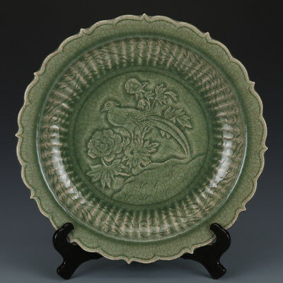 One Rare Chinese Song Dynasty Longquan kiln Porcelain Plate