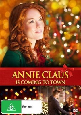 ANNIE CLAUS Is Coming To Town DVD CHRISTMAS MOVIES BRAND NEW R4