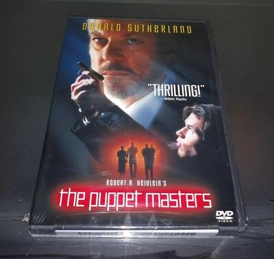 Robert A. Heinlein's The Puppet Masters (DVD 2002) Donald Sutherland Sealed 1994