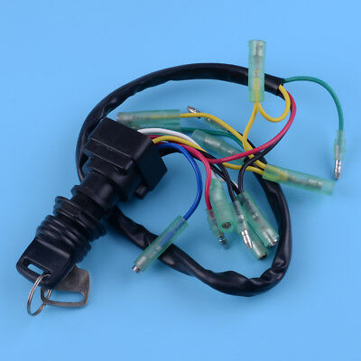 Ignition Main Switch Assy Motor Control Box Fit For Yamaha 2&4 Stroke Outboards