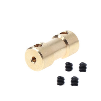 M3 20mm Motor Copper Shaft Coupling Coupler Connector Sleeve Adapter 9 ModelS