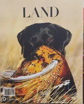 Land Legendary Living Farm Ranch Texas West acres Summer 2018 FREE SHIPPING CB