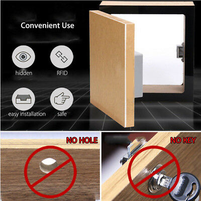 Cabinet Drawer Lock Simple Convenient Electronic Battery Kits DIY RFID Unique
