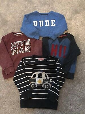 Boys Age 3-4 Next Jumper Bundle