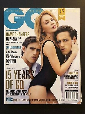 GQ. March/April 2014. Kylie Minogue. Bulk Rate Postage Available!!