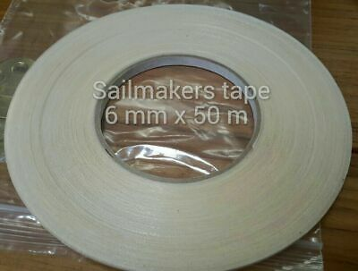 No pins, hemming and seam double sided Basting tape for all fabric.9 mm x 50m