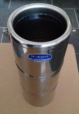 Thermos D-2000 Stainless Steel Dewar Flask 2 Litre cryogenic liquid oxygen etc