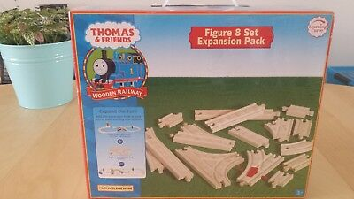 Thomas The Tank Engine Figure 8 Rail Track Expansion Pack for Wooden Train Set