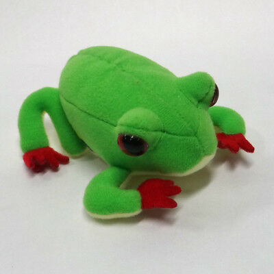 Red-eyed Tree Frog  Plush  ' with magnetic belly '
