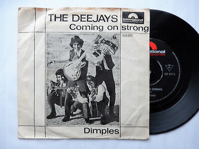 Deejays - Coming On Strong - Dimples - Beat - Pop - Polydor - First D '65 - 7""