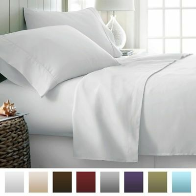 King Size Bed Sheet Set All Extra Deep Pkt /& Colors 1000 TC Egyptian Cotton
