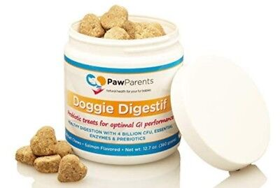 Dog Probiotics Chewable   Natural Digestive Enzymes for Dogs to Support Gut and
