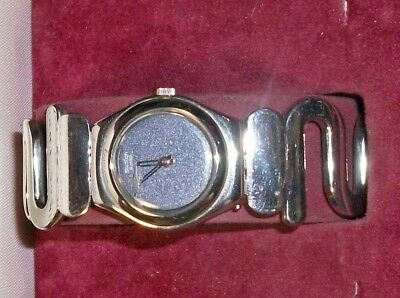 Vintag Swatch Irony Wrist watch  Silver tone