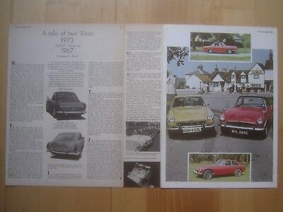 Sunbeam Tiger road, race, rally / Alpine & Harrington Le Mans Reports, 40 pages