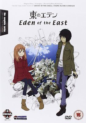 MANGA: Eden Of The East (DVD-2010) Region 2. 248 mins Approx. New & SEALED*****