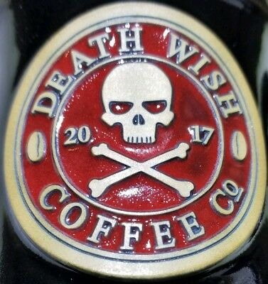 NEW / NEVER USED Death Wish Coffee - Official 2017 Limited Edition Mug!