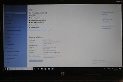 Notebook HP Pavilion G7 17,3'' Intel Core i7 2,10 GHz 4GB RAM 256GB SSD Win10
