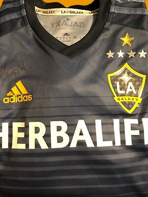 LA Galaxy Jersey Autographed By Grant Gustin