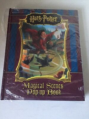 Harry Potter Magical Scene Pop Up Book New