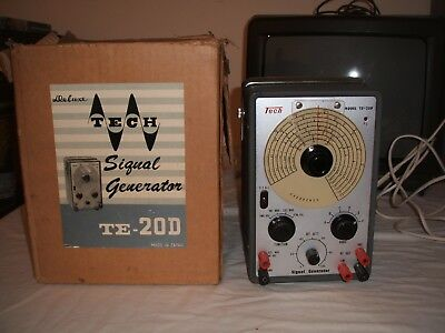 Deluxe Tech TE-20D Vintage High Frequency Signal Generator RF