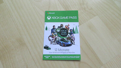 Microsoft XBOX GAME PASS 12 Monate