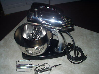 Sunbeam Mixmaster chrome stand mixer model 12C