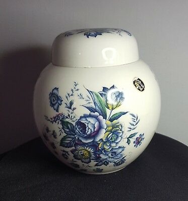 An Arthur Wood Chinese / Japanese Blue And White Ginger Jar.
