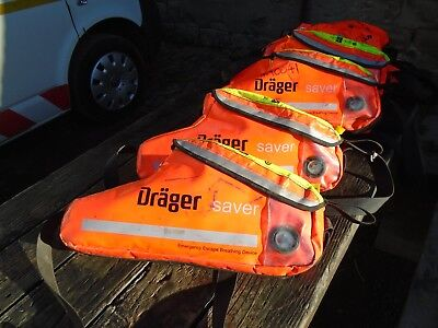 Drager Cf10 Emergency Escape Kit, Full Charge & Test