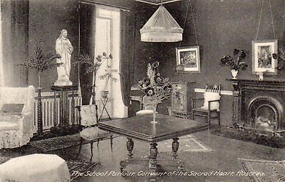School Parlour Convent Of The Sacred Heart Roscrea Tipperary Ireland Postcard