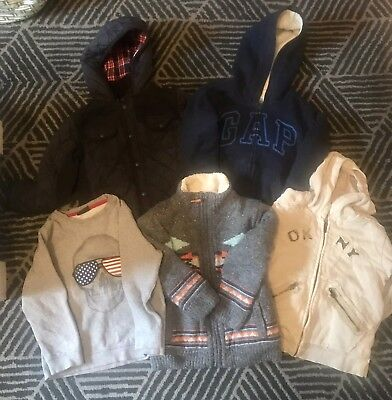 Boys Warm Winter Job lot, Bundle Aged 4-5 Years,Next, Gap, Autograph, Coat,VGC
