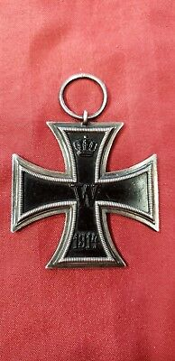 WW1 German Iron Cross 2nd Class 1813-1914 with marker mark