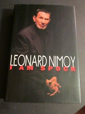 Leonard Nimoy Star Trek Book I Am Spock with AUTOGRAPHED book plate