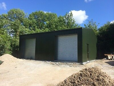 Omega Steel Buildings / Workshop / Warehouse / Garage / Steel Frame | No 02